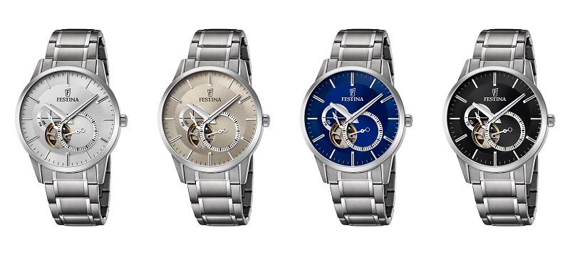 2dad6e71f Ako tretí model vám predstavíme výrazný, no pritom elegantný model pánskych  hodiniek Festina F6846/2. Jeho puzdro s priemerom 40,80 mm kombinuje  prirodzenú ...